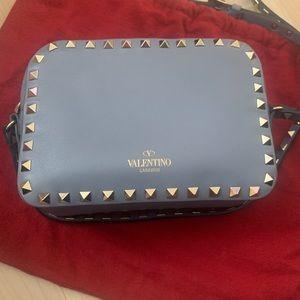 Authentic Valentino Garavani Rockstud Camera Bag